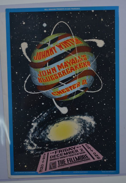 "Posters: ""Bill Graham Presents..."""