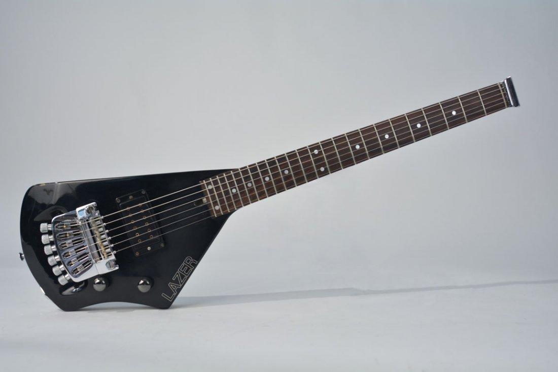 Black Lazer Guitar