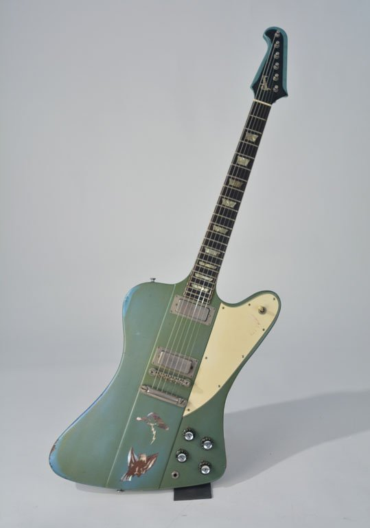 "c. 1965 Gibson Firebird V in ""Inverness Green"""