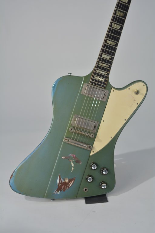 "c. 1965 Gibson Firebird V in ""Inverness Green"" - 2"