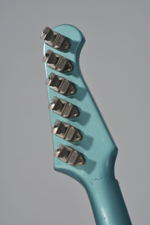 "c. 1965 Gibson Firebird V in ""Inverness Green"" - 6"