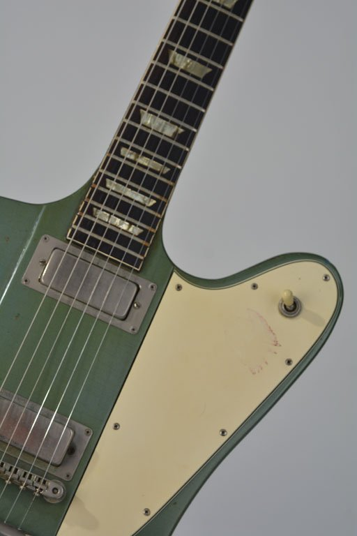 "c. 1965 Gibson Firebird V in ""Inverness Green"" - 8"