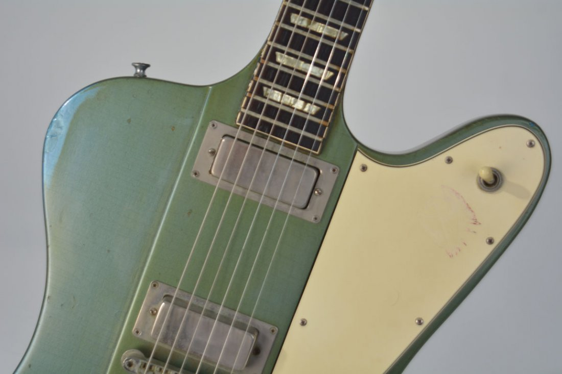 "c. 1965 Gibson Firebird V in ""Inverness Green"" - 9"
