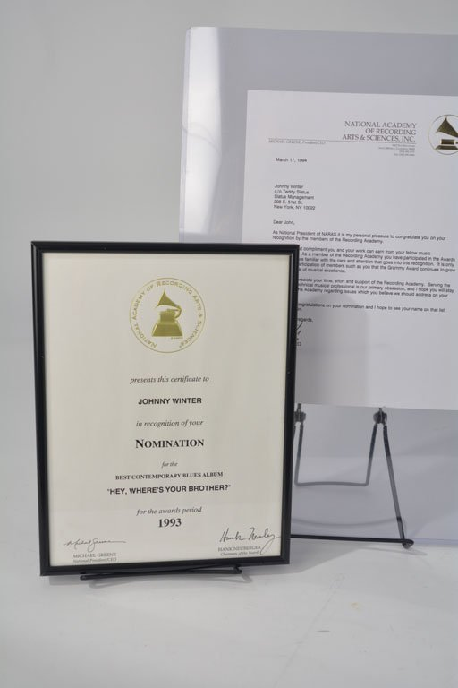 """Grammy Nomination, """"Hey, Where's Your Brother?"""""""