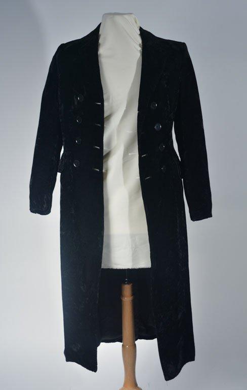Johnny Winter's Velvet Coat