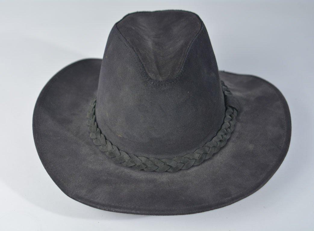 Johnny Winter's Black Suede Cowboy Hat