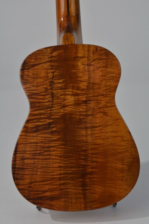 """""""Tangi of Hawaii"""" Koa Wood Ukulele - 4"""