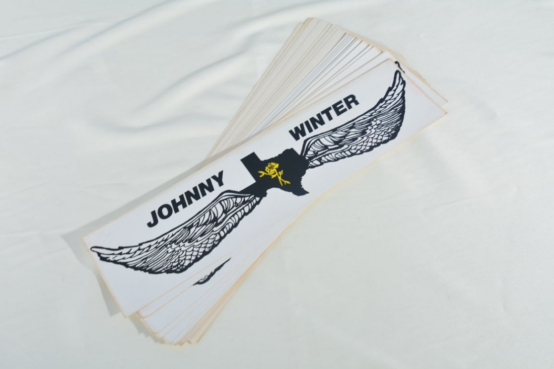 Johnny Winter Bumper Stickers
