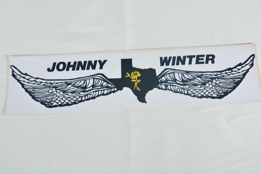 Johnny Winter Bumper Stickers - 2