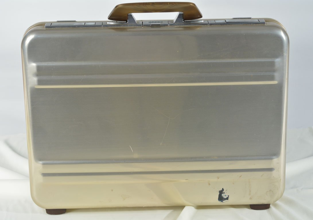 Johnny Winter's Haliburton Briefcase