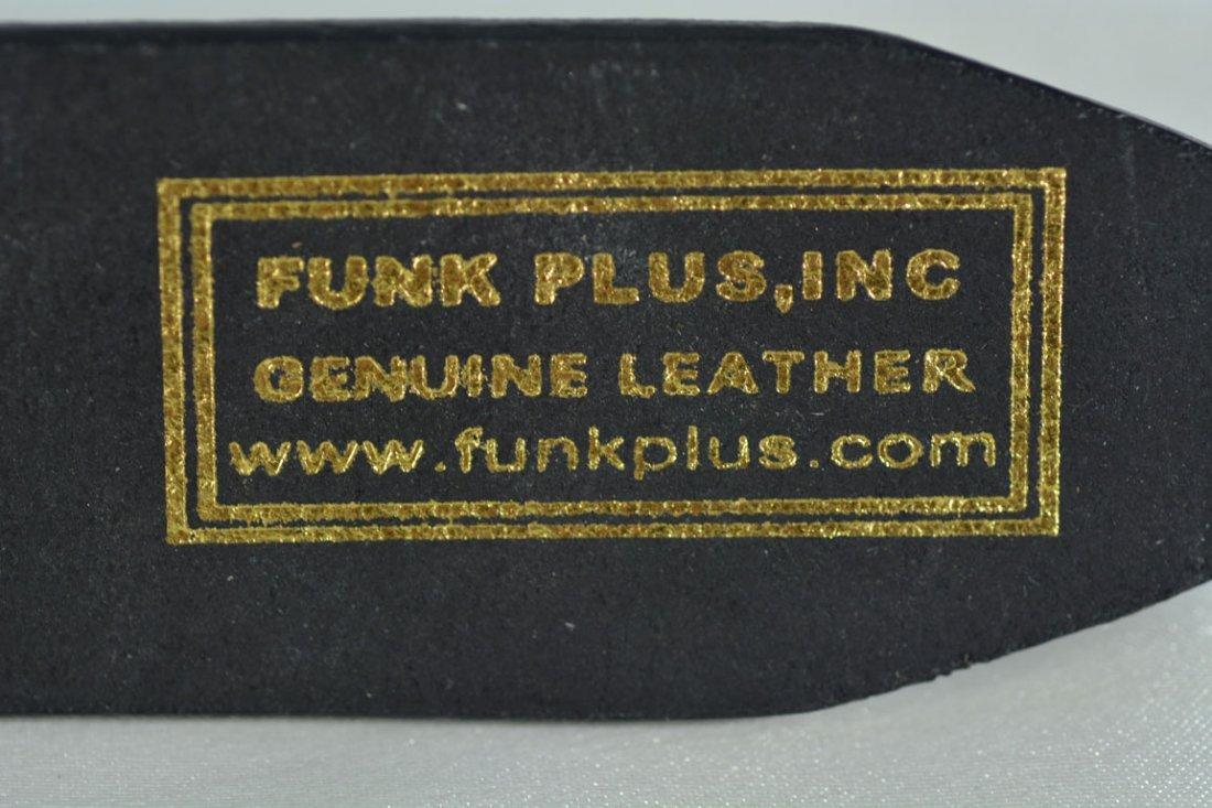 Johnny Winter's Gothic Hand Belt Buckle - 6