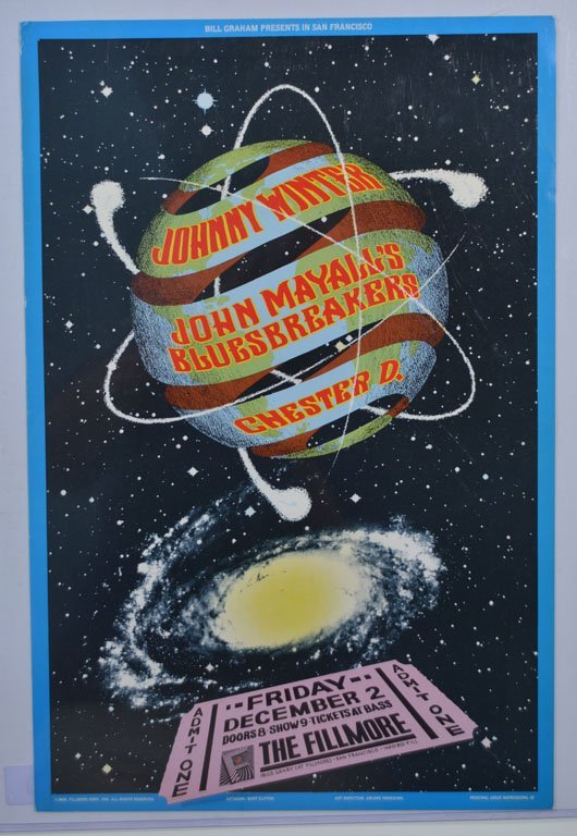 "Poster: ""Bill Graham Presents..."""