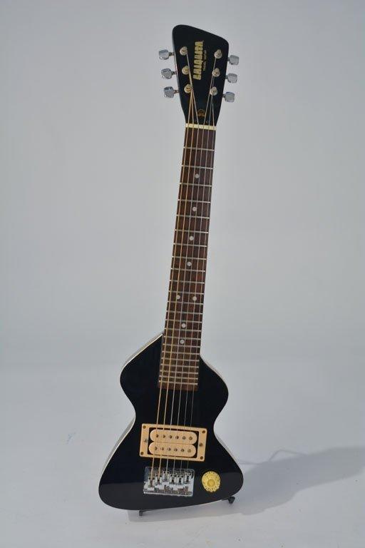 Black Chiquita Travel Guitar and Chiquita Amplifier