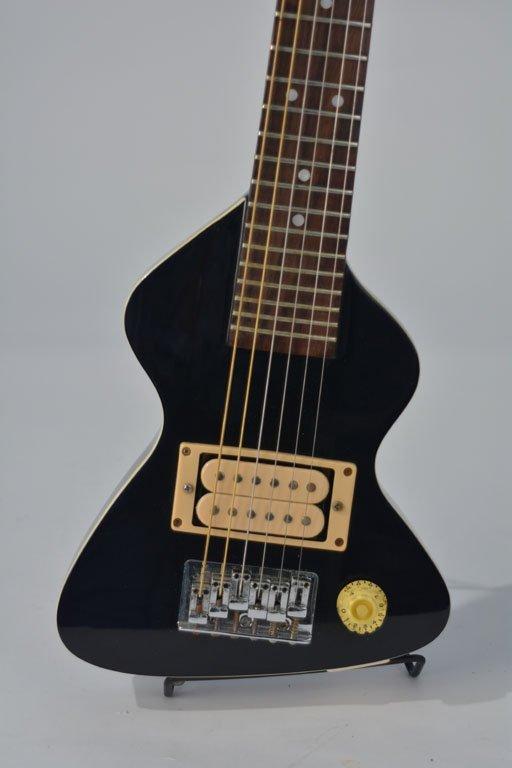 Black Chiquita Travel Guitar and Chiquita Amplifier - 2
