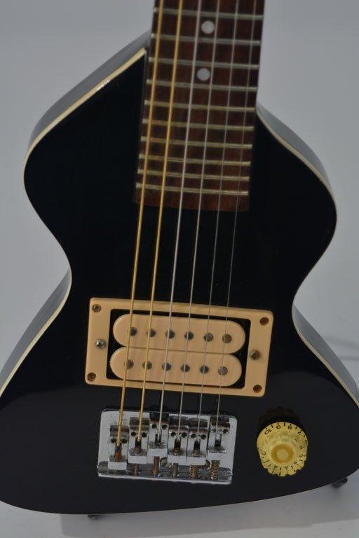 Black Chiquita Travel Guitar and Chiquita Amplifier - 5