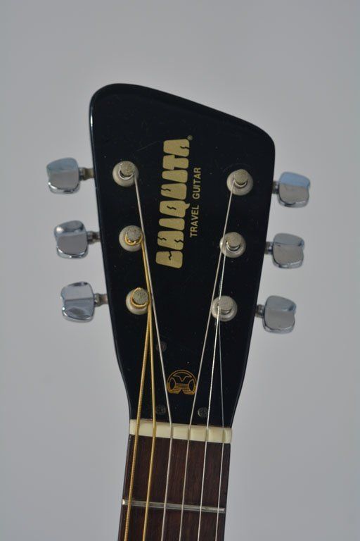 Black Chiquita Travel Guitar and Chiquita Amplifier - 6