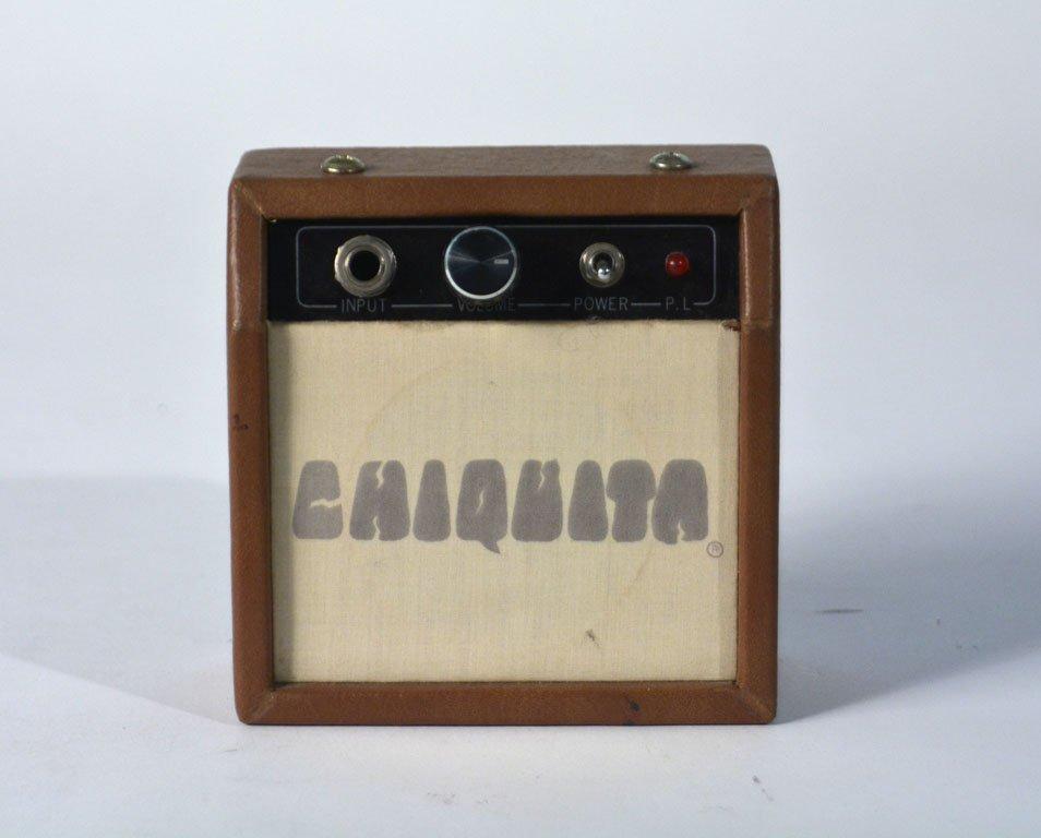 Black Chiquita Travel Guitar and Chiquita Amplifier - 8