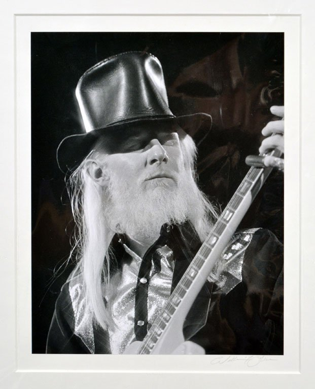 Top-Hatted Johnny Winter
