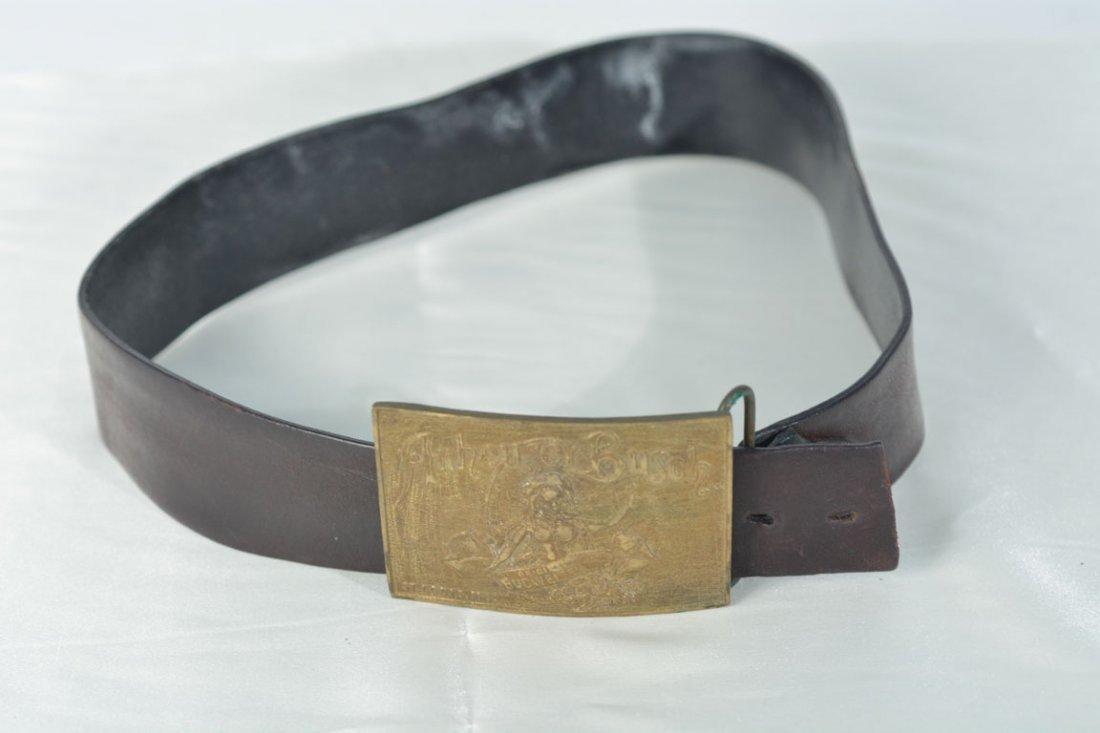 Johnny Winter's Budweiser Belt Buckle
