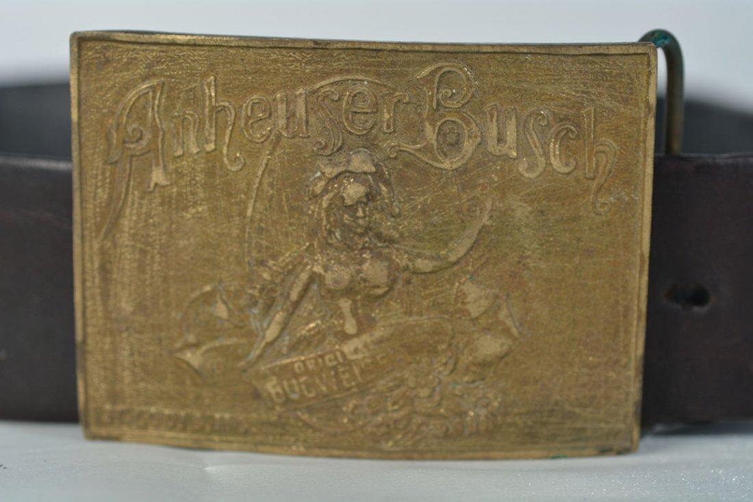 Johnny Winter's Budweiser Belt Buckle - 2