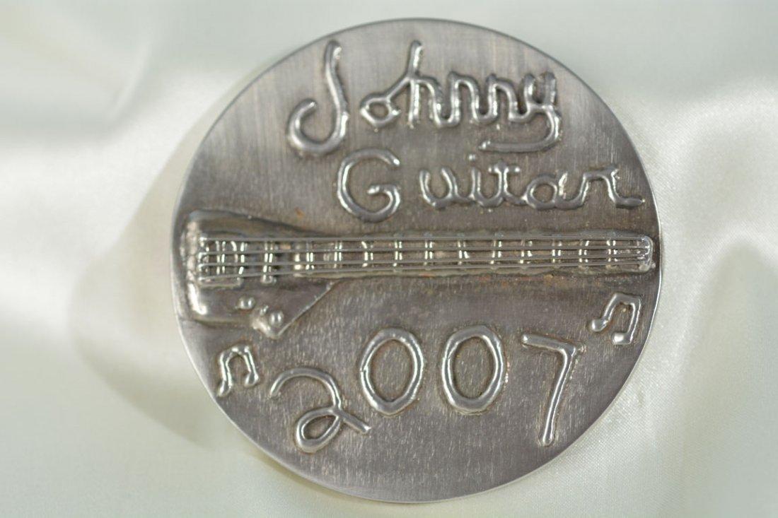 """Johnny Guitar 2007"" Medallion"
