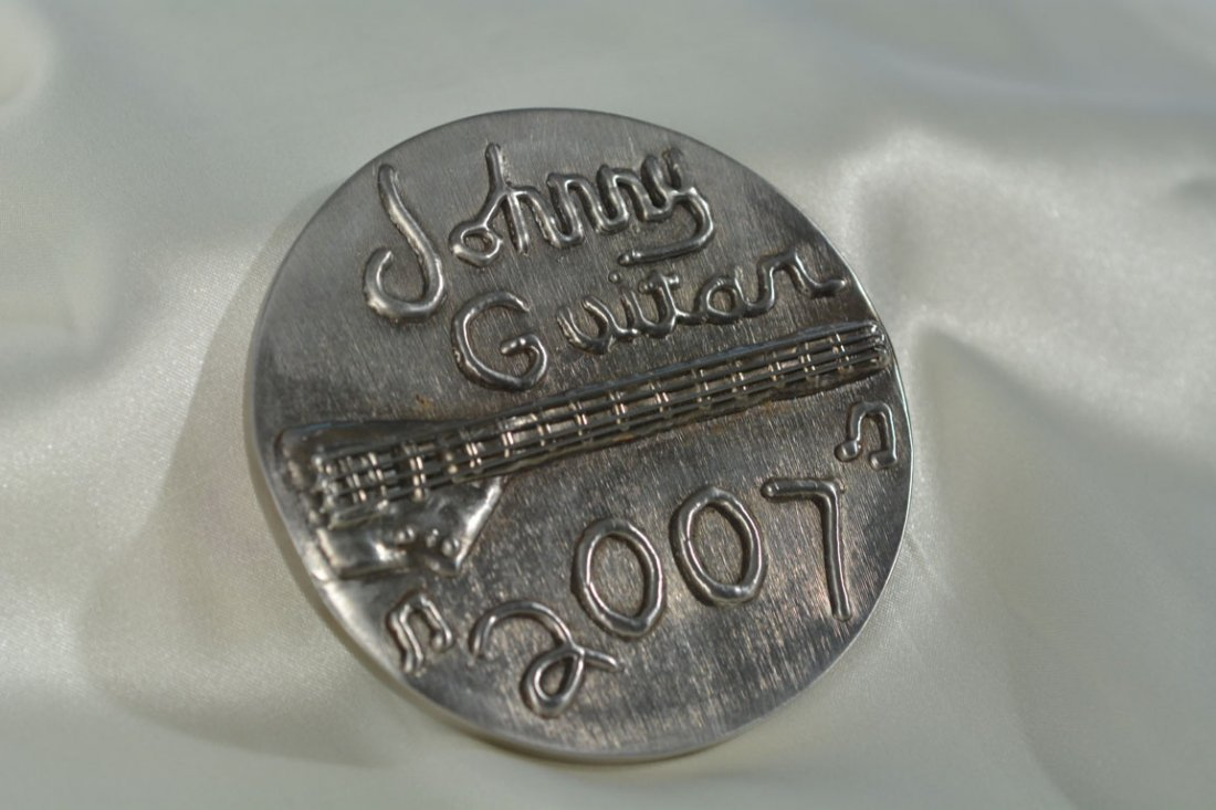 """Johnny Guitar 2007"" Medallion - 3"
