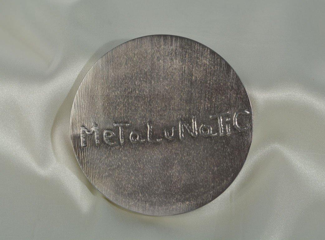 """Johnny Guitar 2007"" Medallion - 4"