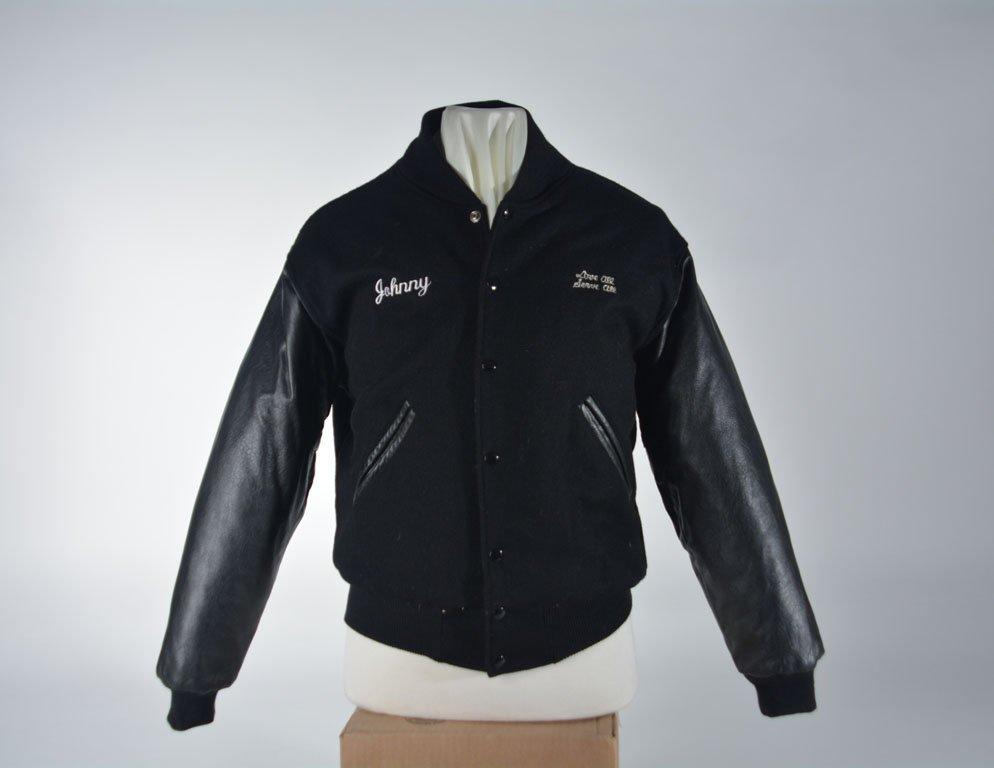 Johnny Winter Hard Rock Cafe Varsity Jacket