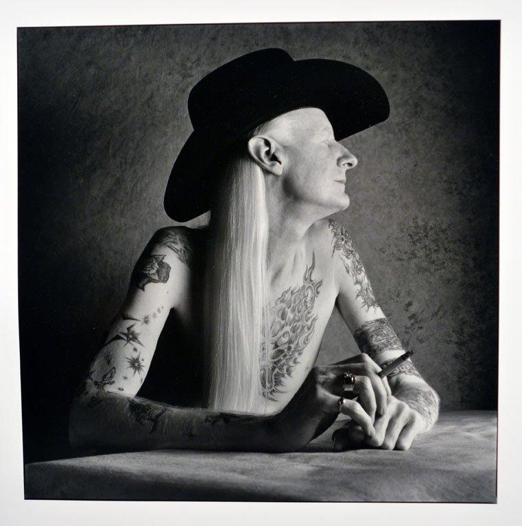 Photographic Portraits of Johnny Winter