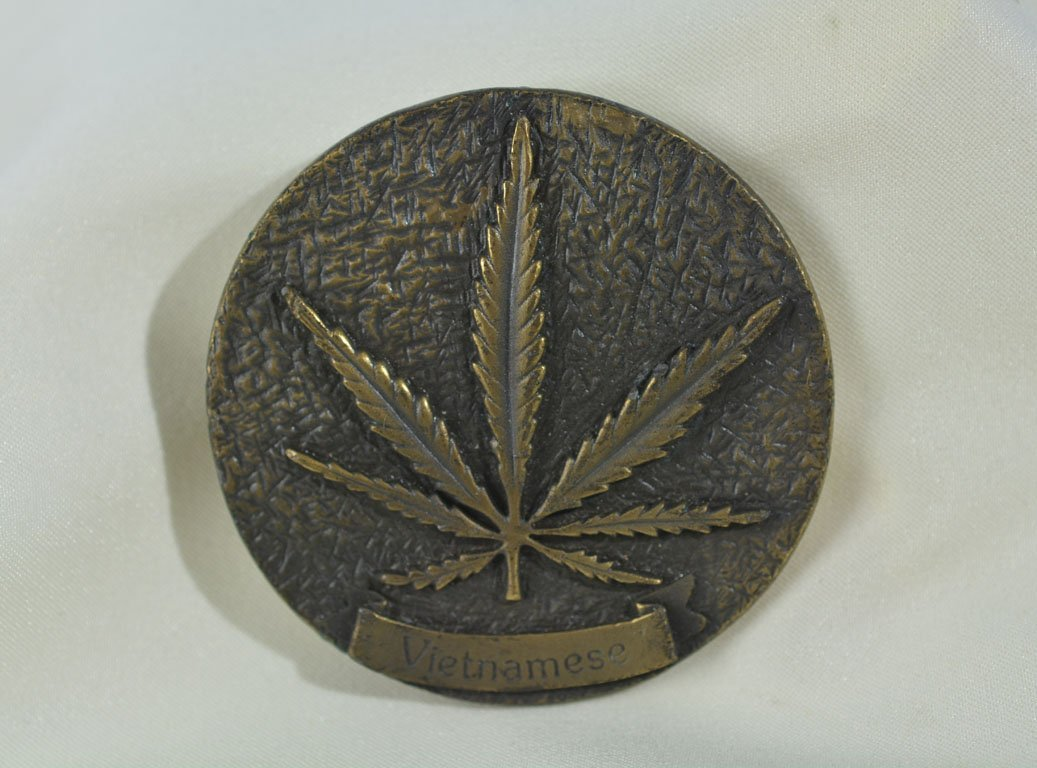 Johnny Winter's Marijuana Belt Buckle
