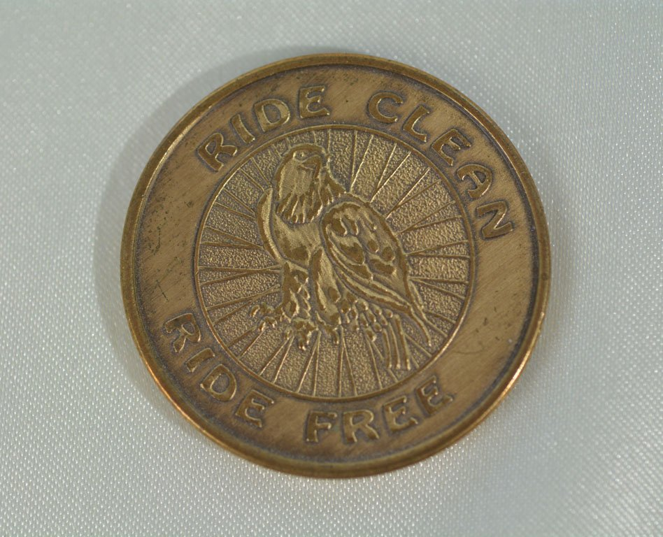 """Ride Clean Ride Free"" Recovery Medallion"