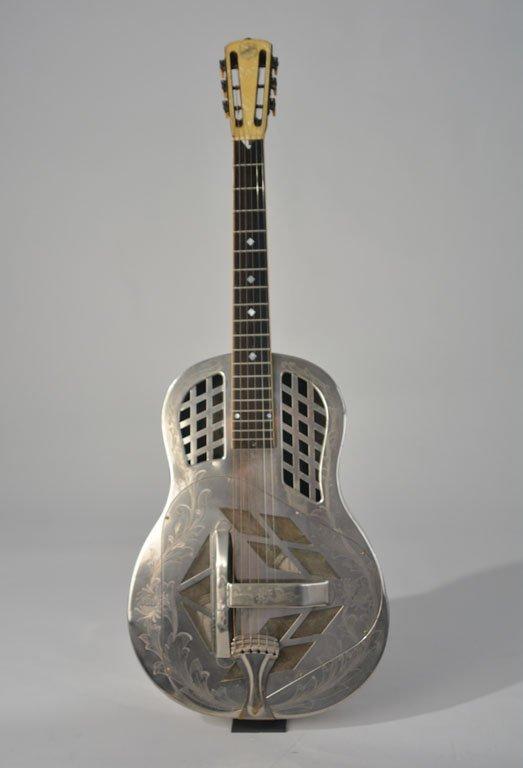 "National Style 4 Tricone ""Chrysanthemum"" Guitar"