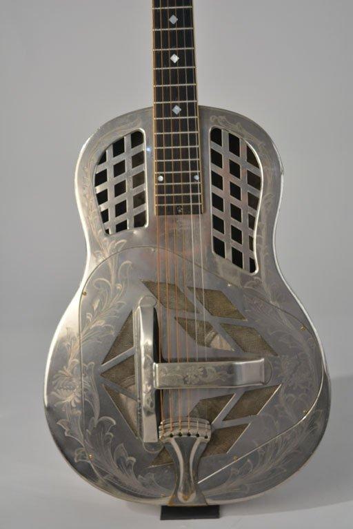 "National Style 4 Tricone ""Chrysanthemum"" Guitar - 2"