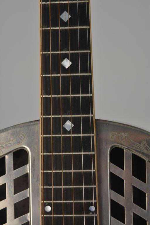 "National Style 4 Tricone ""Chrysanthemum"" Guitar - 9"