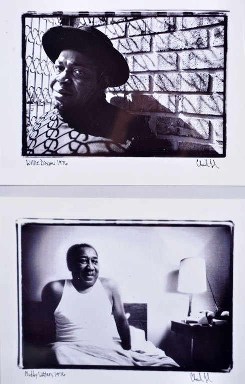 Two Portraits: Muddy Waters and Willie Dixon
