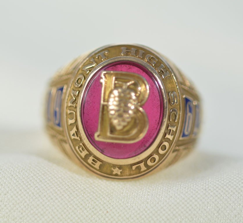 1962 Beaumont High School Ring - 3