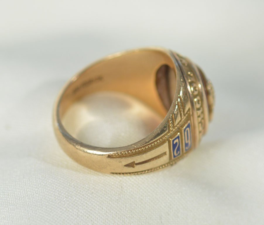 1962 Beaumont High School Ring - 7