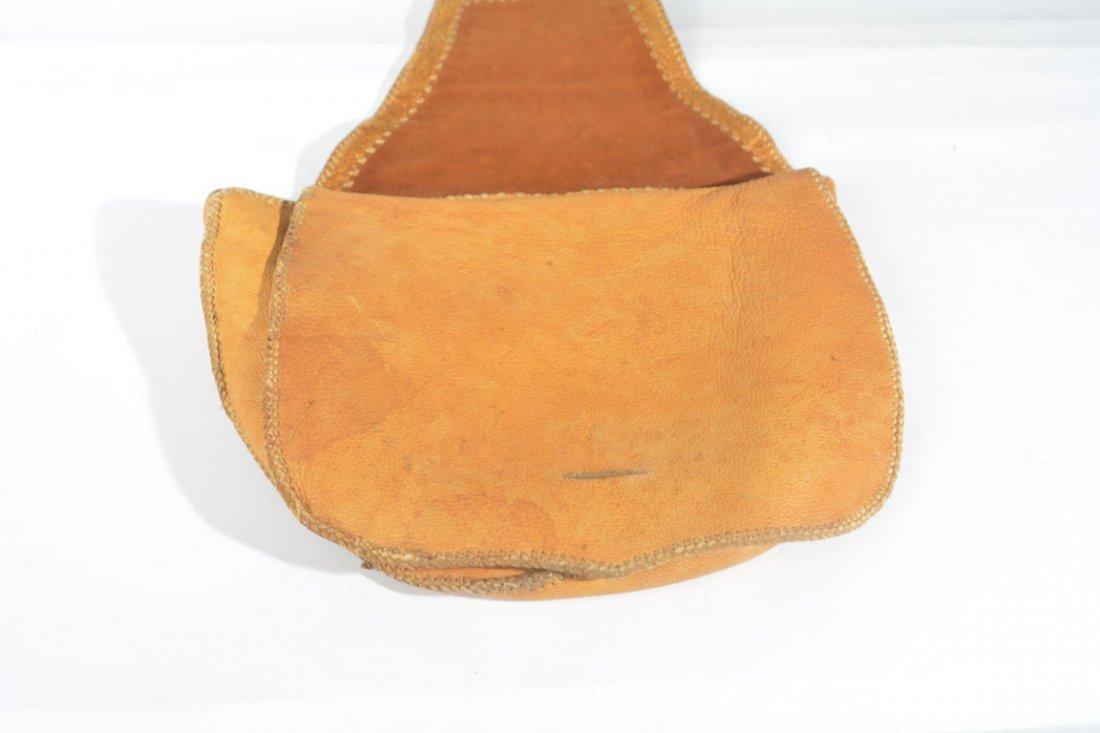 Gold and Brown Saddle Bag - 3