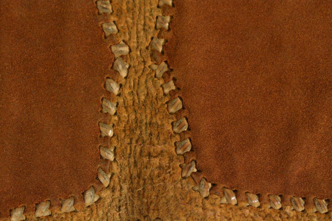 Gold and Brown Saddle Bag - 9