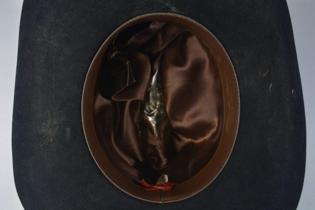 Johnny Winter's Custom Cowhide-Band Cowboy Hat - 6