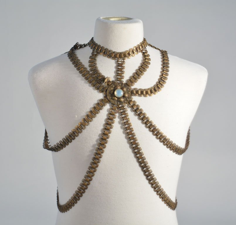 Johnny Winter's Jeweled Body Harness