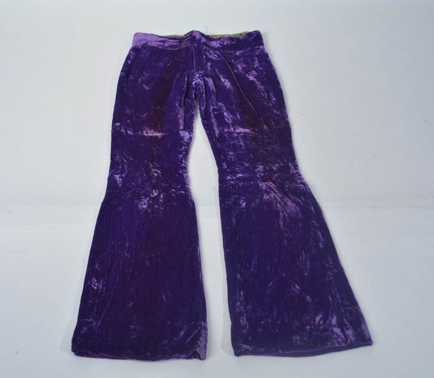 Johnny Winter's Purple Velvet Pants