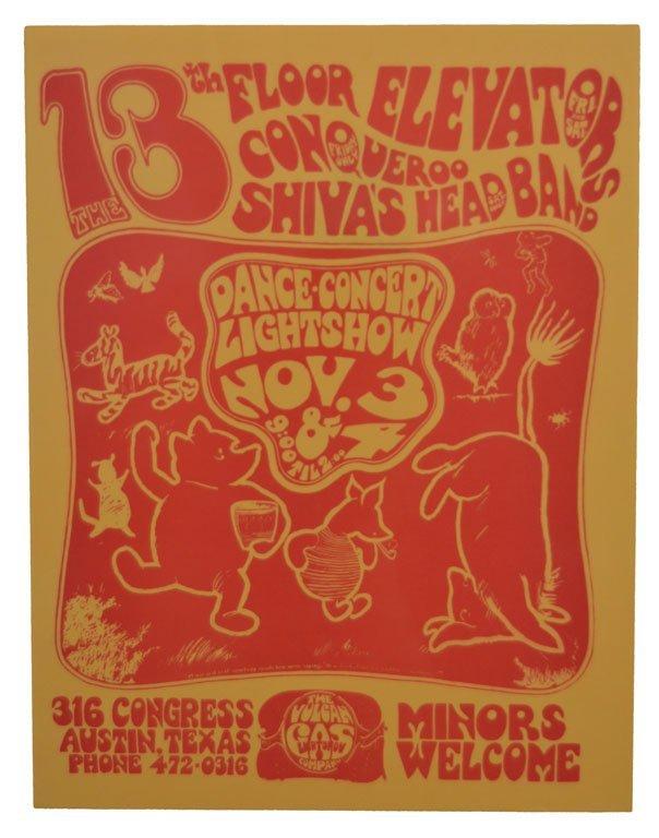 "Handbill: ""Winnie the Pooh"" Vulcan Gas Company"
