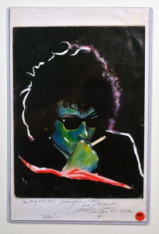 Spider Webb Bob Dylan Print