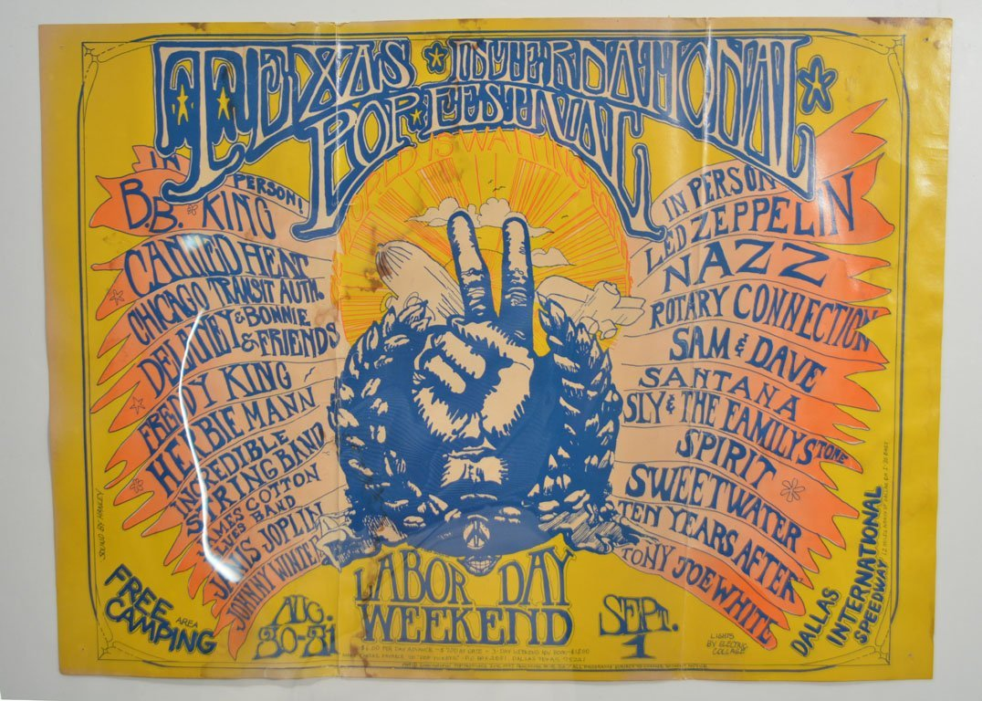 Poster: Texas International Pop Festival