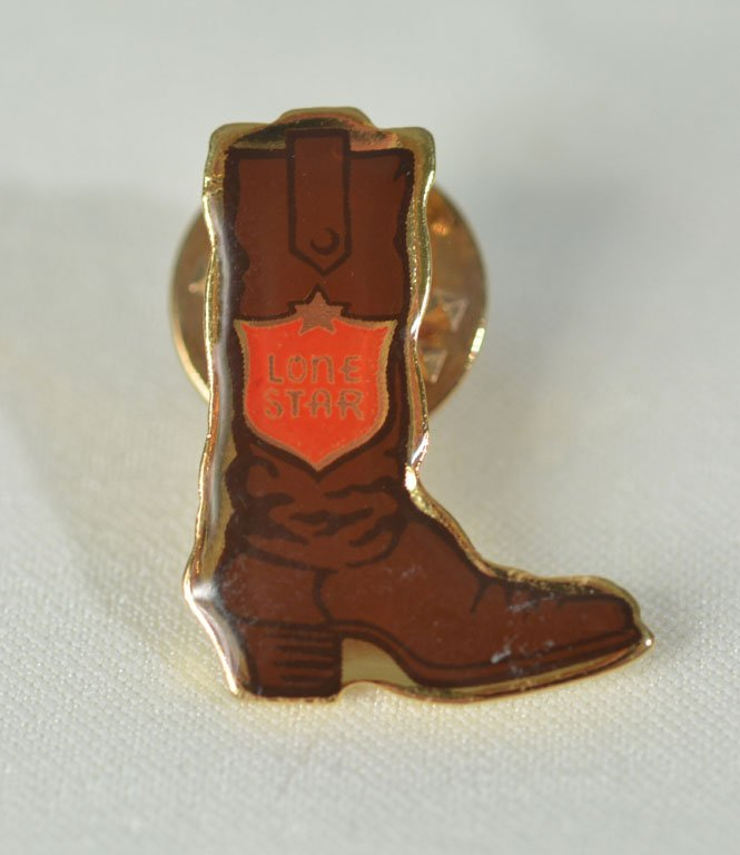 Pair of Johnny Winter's Texas Pins - 2