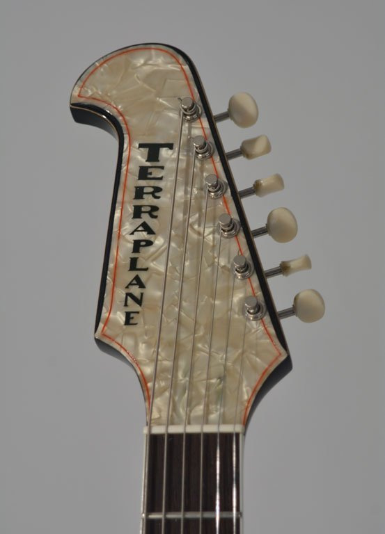 "Terraplane ""Johnny"" Guitar - 10"