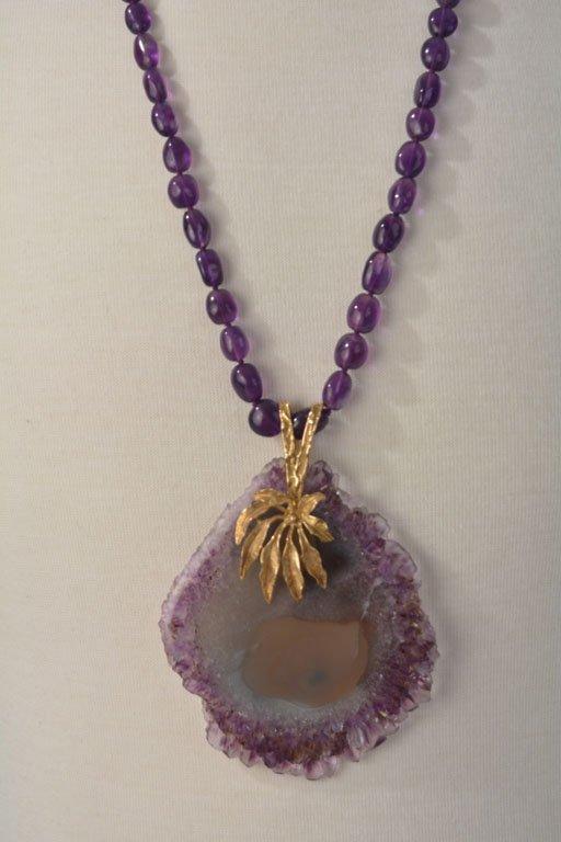 Johnny Winter's Quartz Necklace