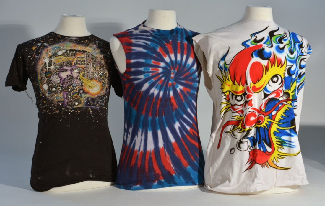 Three of Johnny Winter's Shirts