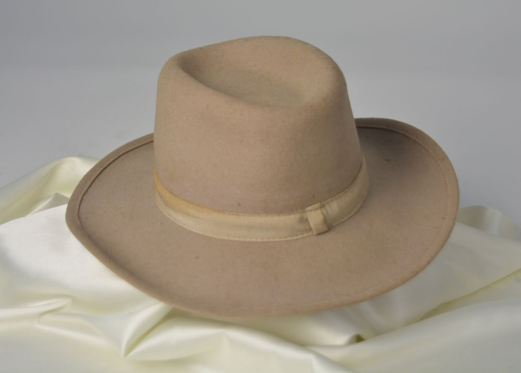Johnny Winter's Tan Western Hat